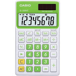 Casio SL-300VC Standard Function Calculator with Protective Case - Green