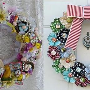 Special Christmas Wreath Decorating Ideas Door Christmas Wreath ...