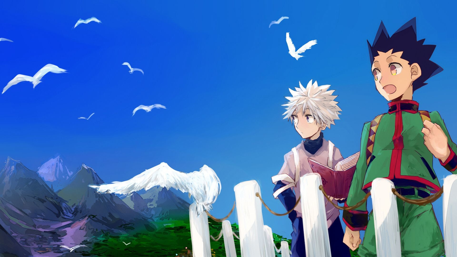 Gon And Killua Wallpaper 78 Images