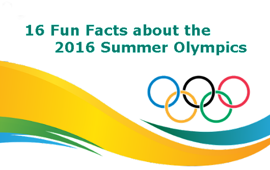 16 Fun Facts about the 2016 Summer Olympics for Kids