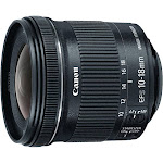 Canon EF-S Wide-Angle Zoom Lens for Canon EF - 10mm-18mm - F/4.5-5.6