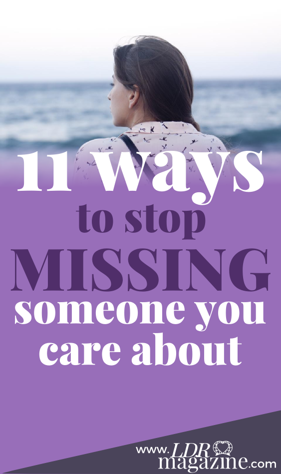 How To Stop Missing Someone