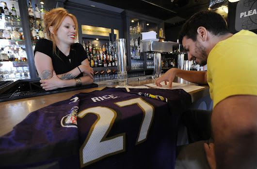 Ray Rice for free pizza? Turning your unwanted Rice jersey into free food
