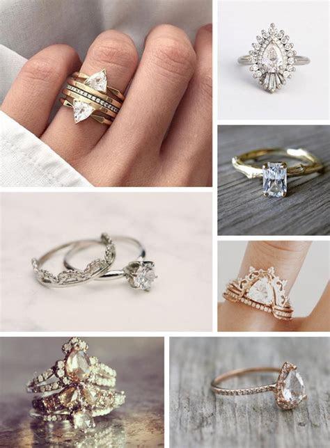 Boho Wedding Rings