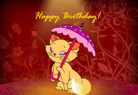 Cute Kitty Birthday Wishes! Free Happy Birthday eCards