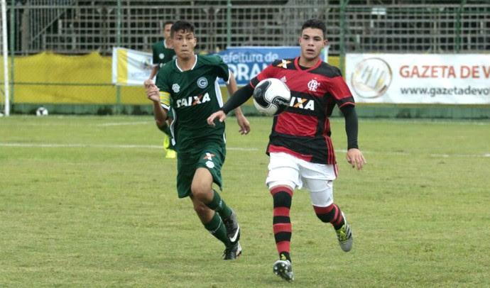Flamengo x Goiás, semifinal, Copa Brasil Infantil, sub-15, Votorantim (Foto: Marcos Ferreira / Secom Votorantim)