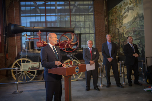 Pennsylvania Gov. Tom Wolf visits Lehigh Valley to announce new manufacturing initiative