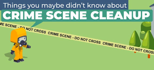 Things You Didn't Know About Crime Scene Cleanups [Infographic]