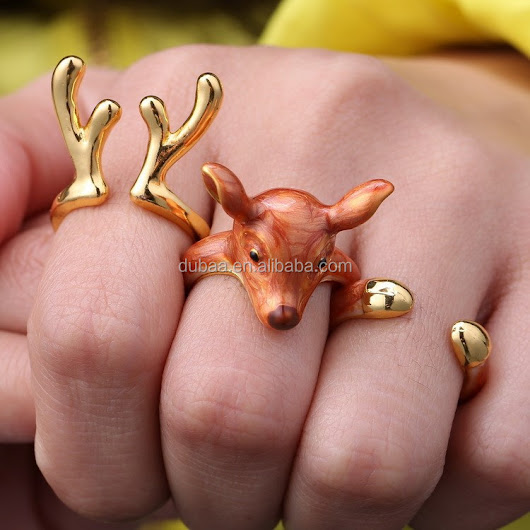 Christmas Antler Elk Deer Silver Knuckle Midi Ring 3 Pack, View Christmas ring, Dubaa Product Details from Yiwu Dubaa Trading Inc. on Alibaba.com