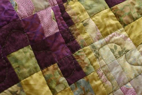 bargello quilt detail