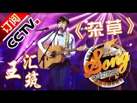 歌曲音樂 Song: 【精選單曲】《中國好歌曲》20160318 第8期 Sing My Song - 王匯筑《雜草》   CCTV