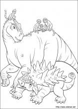 Dibujos De Dinosaurio Para Colorear En Colorear Net