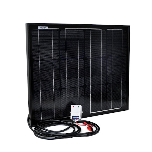 Instapark NEW All Black 30W Monocrystalline Solar Panel Review
