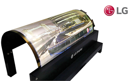 Televizor LG Rollable OLED Display de 65 inch - Smart TV-ul flexibil care se impatureste » SMART TV