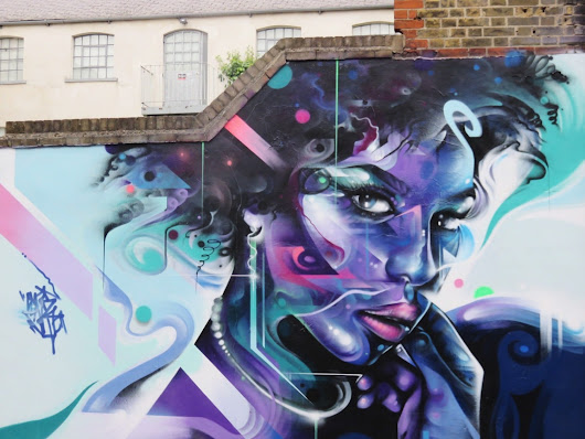 Street Art in Shoreditch: Step into a World of Colour — The Discoveries Of