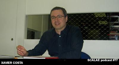 Xavier Costa en el Centro de Enlace AE BCN para SCALAE
