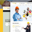 Plumbing Zone - Plumbing - repair, Building & Construction Theme For WordPress | Premium WordPress Website Blogging Themes