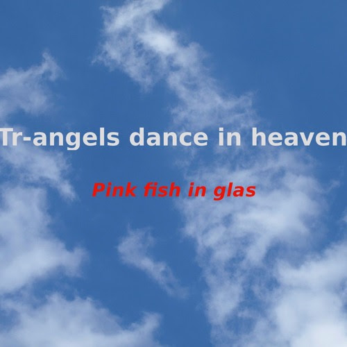 Pink fish in glas - Tr-Angels dance in heaven by Peter Vennhoff