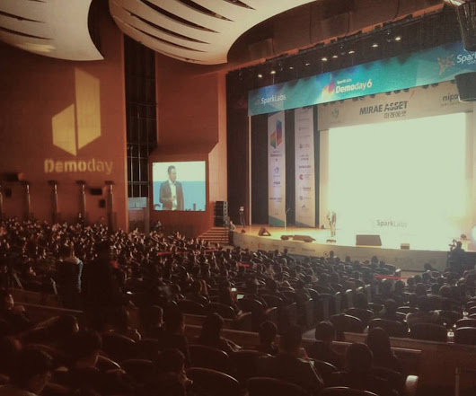 SparkLabs Hosts the Largest Demo Day in the World As Asia's Startup Craze Explodes