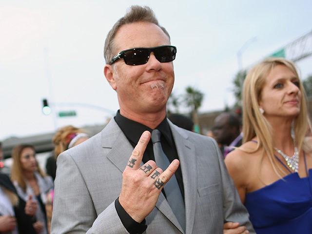 James Hetfield Left San Francisco to Escape 39;Elitist Attitudes39;