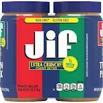 Jif Extra Crunchy Peanut Butter (48 oz., 2 pk.)