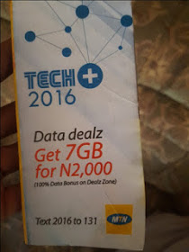 Unfortunately Mtn 7GB for N2000 was Ended Yesterday 23rd July