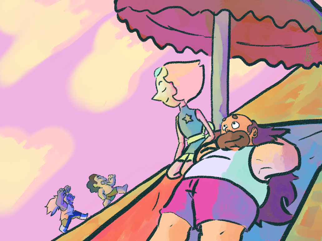 Some Gregpearl! Backgrounds are hard for me...but! I'll learn as I go, and it all won't feel so intimidating anymore one day I hope!
