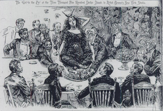 The Party, The Pie, and the Girl Who Brought Down a Gilded Age Tycoon