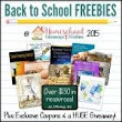 $130 in FREE Homeschool Curriculum & Resources