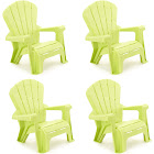 Little Tikes Kids Adirondack Chair (Set of 4); Green