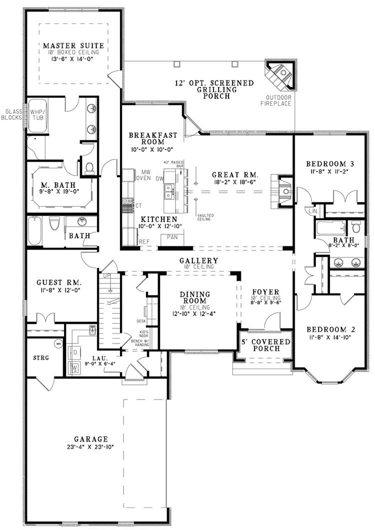 The House Designers\u2019 Design House Plans for New Home Market