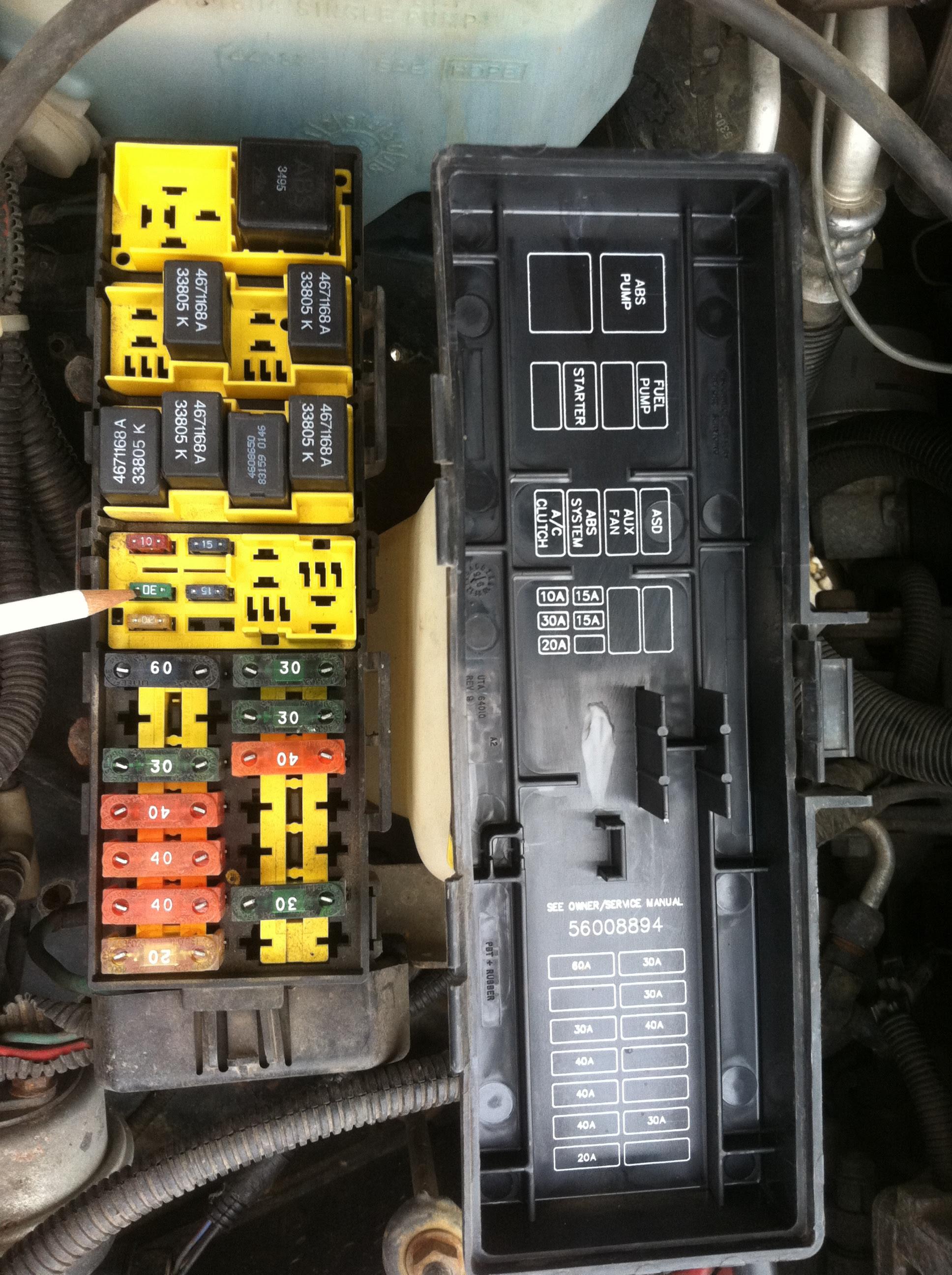 1996 Jeep Cherokee Fuse Box Location Wiring Diagram Visual Visual Cfcarsnoleggio It