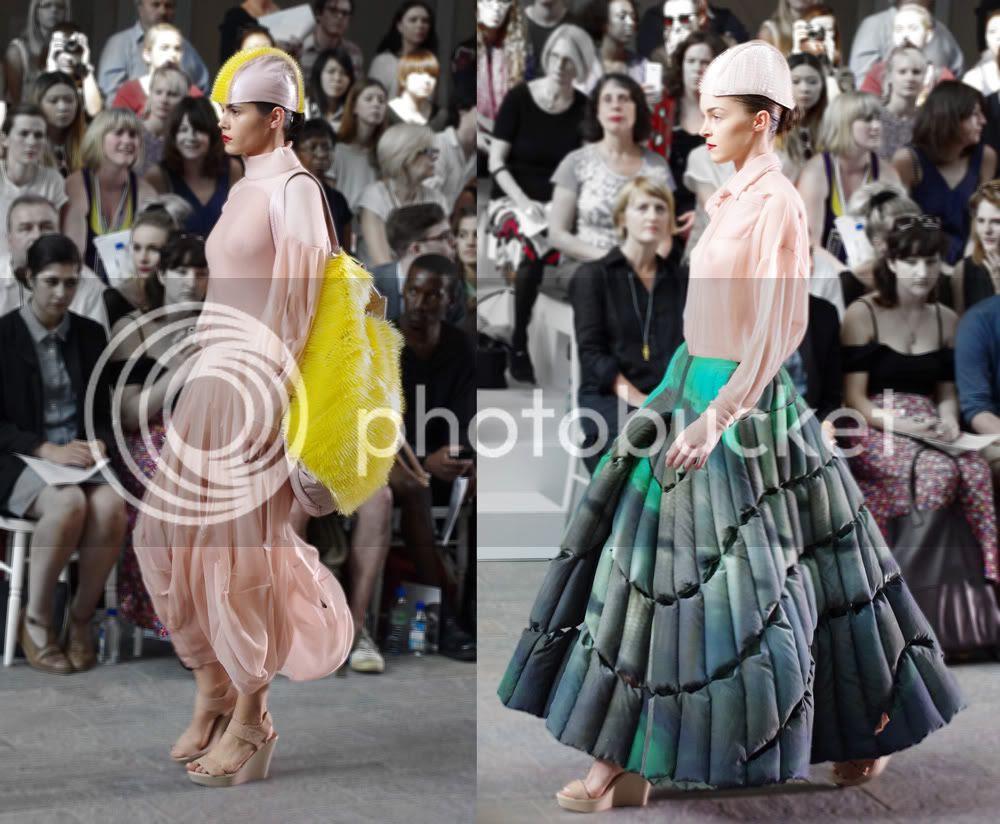 Minki Cheng (Fashion Design with Marketing) CSM BA Press Show