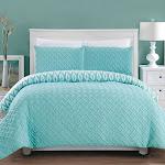 Chic Home Ora 3-Pc Queen Comforter Set - Aqua