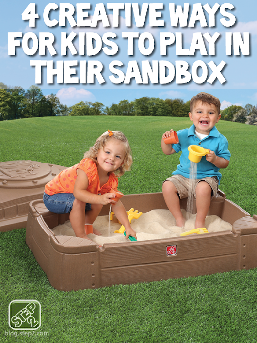 4 Creative Ways for Kids to Play in their Sandbox - Step2 Blog