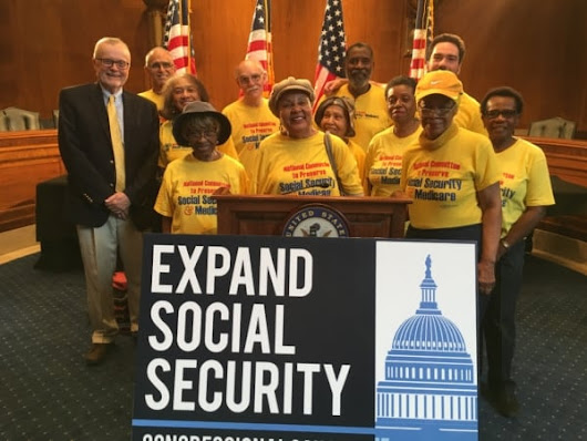"Congressional Caucuses Promise ""Righteous Fight"" to Expand Social Security - NCPSSM"