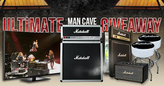 Enter Now! Marshall Man Cave Giveaway!