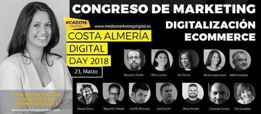 Las administraciones públicas estaremos en el Congreso de Marketing de Almería | Gobernu Irekia - Gobierno Abierto - Open Government