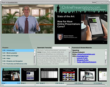 Online Presentations State of the Art