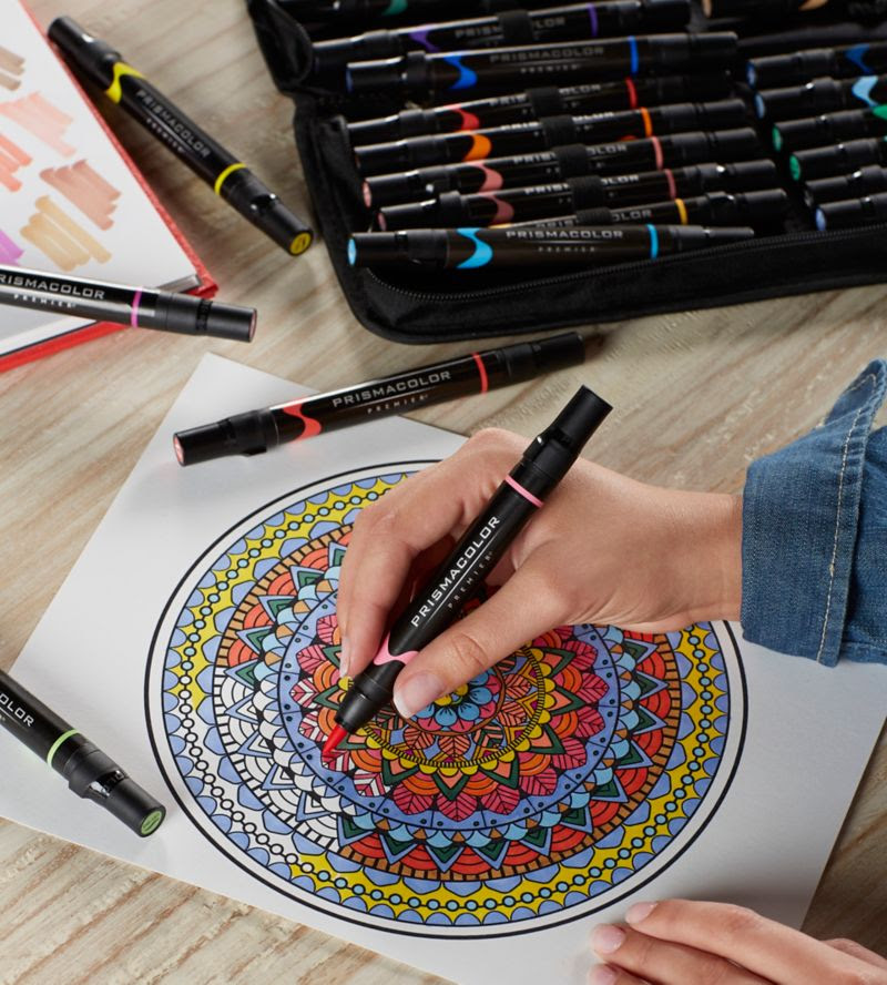 Quick tips for using Prismacolor Art Markers - Prismacolor
