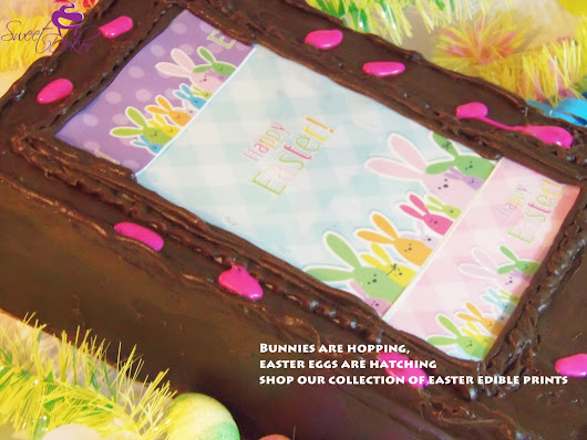 Seasonal and Holiday Edible Designer Prints-for Valentine's day,mardi gras,st.patricks,july 4th