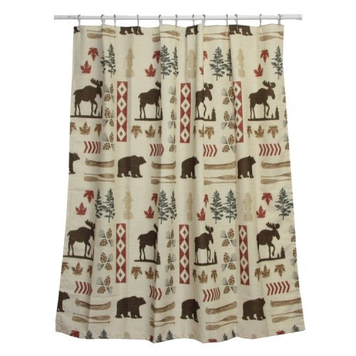 North Ridge Shower Curtain