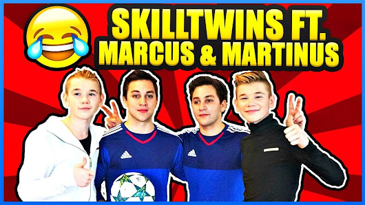 MARCUS & MARTINUS x SKILLTWINS: Funny Football Twin Challenges & Having Fun! ★ - YouTube