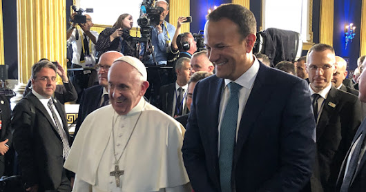 Irish prime minister raises LGBTI issues during papal visit