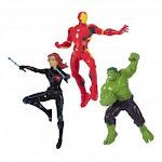 (Iron Man, Black Widow, Hulk) - SwimWays Marvel Avengers Dive Characters - Iron Man, Black Widow, and Hulk