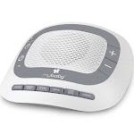 Homedics Mybaby SoundSpa Portable Baby Sound Machine, Size: One size, White