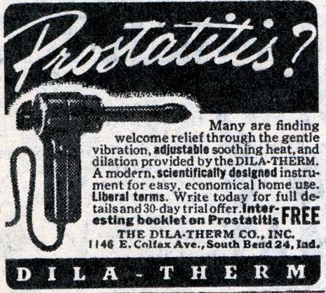 prostatitis dila therm
