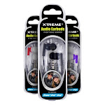 Xtreme Noise Isolation In Ear Audio Earbuds - Color Varies