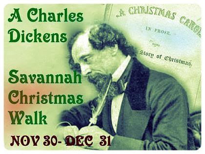 A Charles Dickens Christmas Walk in Savannah