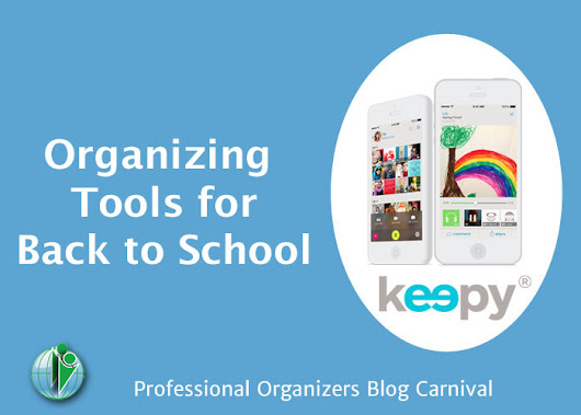 Back-to-School Organizing Tools – Pro Organizers Blog Carnival